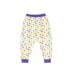 Bude harem pants /Multicoloured ❤ liked on Polyvore