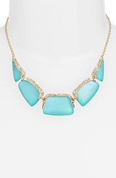 Alexis Bittar 'Lucite®' Frontal Necklace available at #Nordstrom