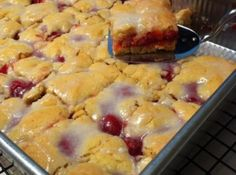 Cherry kuchen delicious like the czechs say and probably the german food day by you are here home recipe box cherry kuchen bars big delicious forumfinder Images