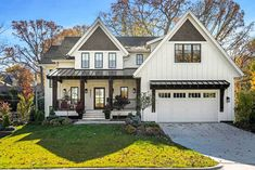 Modern Farmhouse with Optional Finished Lower Level - 14654RK - 02
