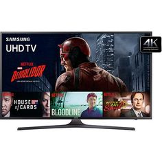 Smart TV 40 Samsung UN40KU6000GXZD Ultra HD 4K HDR com Conversor Digital 3 HDMI 2 USB 120Hz