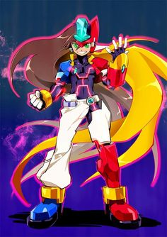 Elsword, Game Character, Character Design, Maverick Hunter, Megaman Zero, Megaman Series, Heroes Reborn, Fighting Robots, Anime Drawings Sketches