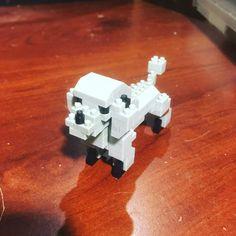 "16 mentions J'aime, 1 commentaires - Dwayne Comeau (@nanoarchitect.ca) sur Instagram: ""My grey dog.  #nano #nanoblock #legoland #legocity #lego #microblocks #megablocks #bricks…"""