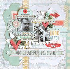 Got Sketch {I am grateful} — Pink Paislee - Portfolio collection, created by DT member Karola Witczak