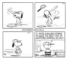 First Appearance: April 1st, 1961 #peanutsspecials #ps #pnts #schulz #snoopy #charliebrown #whop #good #manager #learns #best #whatever #material www.peanutsspecials.com