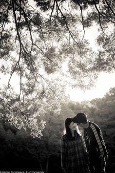 夕焼けの公園で @大阪でエンゲージメントフォト - ○○しゃしんのじかん    http://blog.goo.ne.jp/moriken_photo/