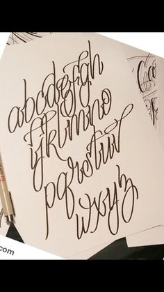 Gothic Lettering, Chicano Lettering, Graffiti Lettering Fonts, Creative Lettering, Script Lettering, Doodle Lettering, Tattoo Fonts Alphabet, Cursive Tattoos, Tattoo Lettering Styles
