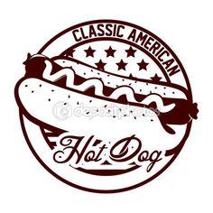 hot dog graphic design - Buscar con Google