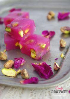 Rose & Pistachio Turkish Delight