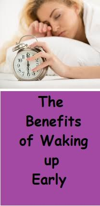 Getting up early gives you a good kick start to your day.  You become more productive. You are allowing yourself more hours for your work and it will also boost your speed.  Studies show that when a person gets up early, he is more energetic and it takes less time to do a task. #health #healthylife #happylife #mornings #happymornings