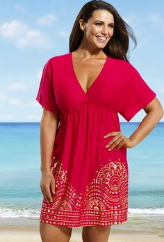 Plus Size Cover Up