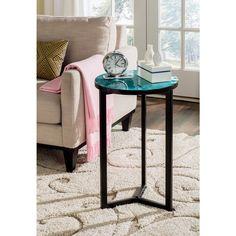 Safavieh Zaira Turquoise End Table