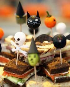 Halloween Food Sticks