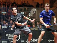 Grégory Gaultier en finale World Series de Squash à New-York. | BV SPORT France
