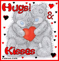 Hugs And Kisses! XOXO For You!
