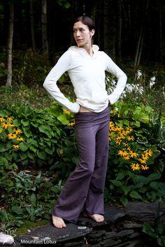 Organic Hemp and Cotton Yogini Pants by MtnLotus on Etsy, $75