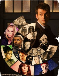10th Doctor Collage