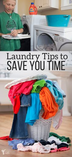 Laundry, laundry, laundry! It never goes away! Here are great tips to get it done faster from a mom of 5 boys! #ad #NewYearNewTide #laundryfordays