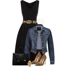 A fashion look from January 2015 featuring long dresses, jean jacket and high heel shoes. Browse and shop related looks.