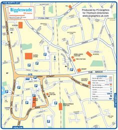 Map of Biggleswade created in 2011 for Thomson Directories. One of approximately 350 UK town and city maps produced royalty free. Find out more...  http://www.pcgraphics.uk.com   or read our blog...    http://www.pcgraphics.uk.com/blog/