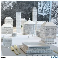 Palace by Allesandro Zambelli. Build your own empire on the dinner table with the innovative dinnerware from Seletti. Designed after Renaissance-style palaces and buildings, Palace confers function with artistic style.