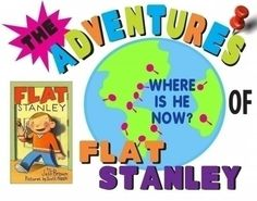 Make a Adventure of Flat Stanley Poster | Classroom Project Poster ideas