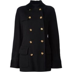 CHANEL VINTAGE double breasted coat
