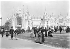 Palais des manufactures nationales - Esplanade des Invalides - Paris - Exposition universelle 1900.