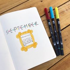 Bullet Journal With Calendar, Self Care Bullet Journal, Bullet Journal Cover Page, Bullet Journal Writing, Bullet Journal Layout, Bullet Journal Ideas Pages, Journal Covers, Bullet Journal Inspiration, Journal Pages