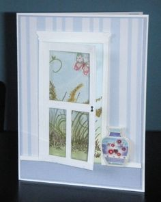 MMTPT251 Door To A Tranquil Garden by sue28 - Cards and Paper Crafts at Splitcoaststampers
