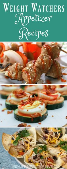 Making Weight Watchers appetizer recipes is easier than ever with this great selection of Freestyle appetizers. Your Freestyle Smart Points are calculated and ready to go, you can enjoy all of these delicious Weight Watchers appetizer recipes stress free!