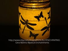 Halloween candle holders choose your by MYSTICALLYENCHANTING, $7.50