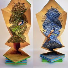 Artist Book Peacock