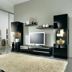 Black Entertainment Center Wall Unit okay so getting this entertainment center! | basement | pinterest