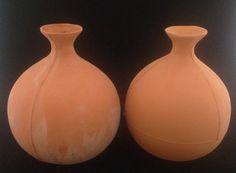 1 Liter Ollas. Clay pot irrigation info: www.Ollas.nl