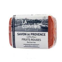 Jabón de la provenza. Aroma Frutos Rojos. Aceites vegetales. Sin parabenos. #cosméticanatural #jabonprovenza #jabonnatural #lacorvette