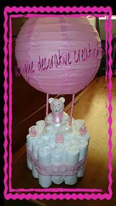 air balloon diaper cake baby shower centerpieces fortable