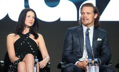 Diana Gabaldon has tipped the show's leading man Sam Heughan for gong glory in Hollywood – as she reflected on 25 years of her time-travel epic.