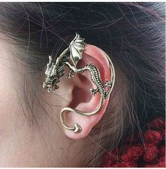 Dragon Ear Cuff/ Earring