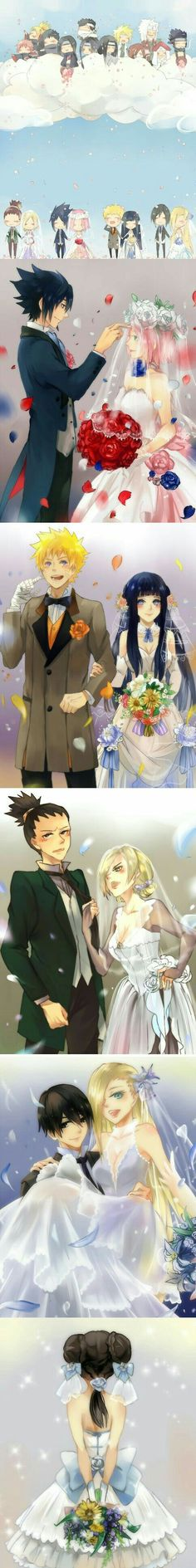Ahhhh*Heart pounding.... Every couple is The best Ship i ever Imagined...... Except...... Tenten.... I feel so Sad For Her... Ohh.. if Only... Neji...But Simultaneously... I find itachi Sasori and And Diedara Funny... There's neji too