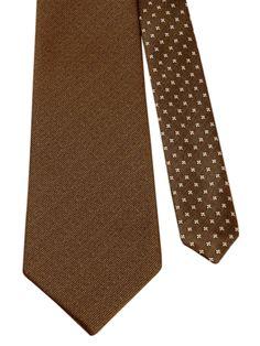 Flipmytie - Men's Brown Reversible Tie (B), $24.99 (http://www.flipmytie.com/mens-brown-reversible-tie-b/)