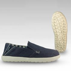 Mens Hey Dude Wally Stretch Gray Casual Shoes