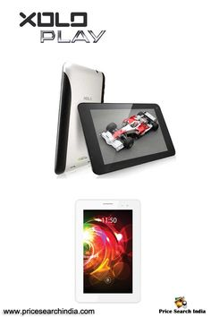 """Hey guys, Xolo has expanded its portfolio with the launch of its frist Tegra processor tablet called """"Xolo Play Tablet 7.0"""" in India. For more information remained with us."""