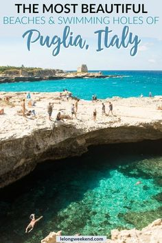 Puglia's beaches are among the best in Italy. Find out where to find the best beaches in Puglia, Italy, here! The post Top 10 Beaches in Puglia Italy. Ultimate Guide to the Best Puglia Beaches appeared first on Woman Casual. Italy Travel Tips, Travel And Tourism, Travel Destinations, Travel Deals, Travel Hacks, Budget Travel, Italy Tourism, Voyage Europe, Backpacking Europe