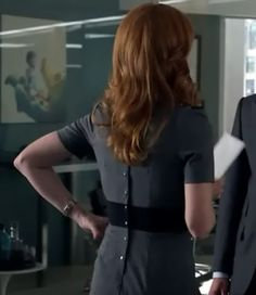 #Donna Paulsen #Sarah Rafferty #women's office fashion #suits
