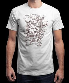 """Castle Plan"" is today's £8/€10/$12 tee for 24 hours only on www.Qwertee.com Pin this for a chance to win a FREE TEE this weekend. Follow us on pinterest.com/qwertee for a second! Thanks:)"