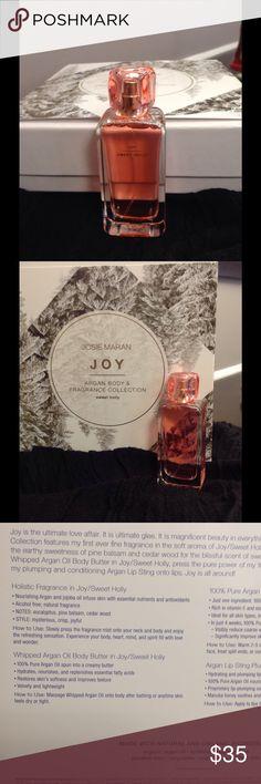 JOSIE MARAN HOLISTIC FRAGRANCE EAU DE PARFUM JOY NEW Holistic fragrance in Joy/Sweet Holly. READ MORE IN PIC 3. Price firm unless bundled. Josie Maran Other