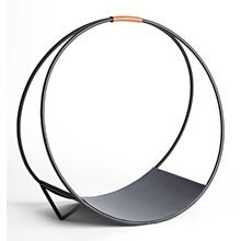 Search Results for modernist-loop-log-holder Outdoor Firewood Rack, Firewood Holder, Firewood Storage, Modern Fireplace Tools, Fireplace Logs, Fireplaces, Fireplace Ideas, Outdoor Dining Furniture, Metal Furniture