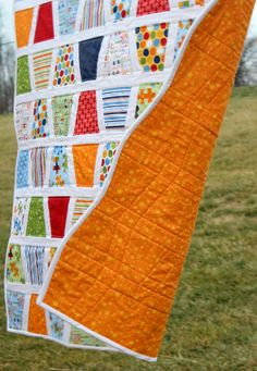 Baby Quilt Tumbler Quilt Pieces of Hope Riley Blake by lovequilt,