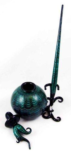 Tiffany Glass Inkwell #FountainPenLover